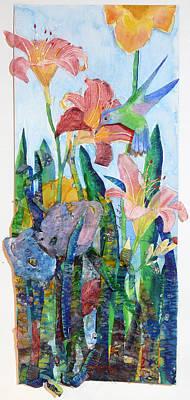Hummingbird Cafe Original by Carole Overall