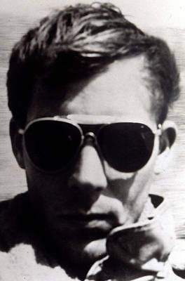 Hunter S. Thompson, 1960s Print by Everett