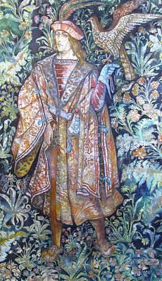 Hunter Print by Tanya Ilyakhova
