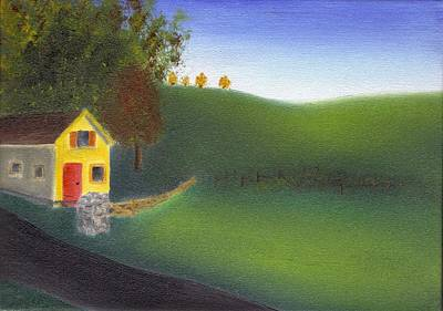 Hurlock Hills Print by Tim Webster