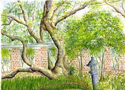 Painting - Hurricane Besty Tree by Catherine Wilson