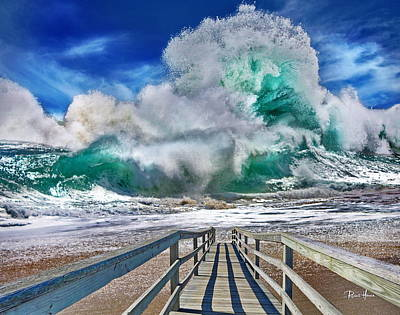Pacific Photograph - Hurricane Storm Waves by Russ Harris