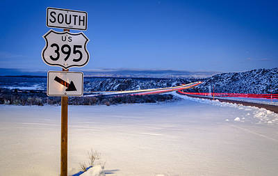 Mammoth Photograph - Hwy. 395 South by Cat Connor
