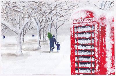 Hyde Park Holiday Original by Samuel Beckman