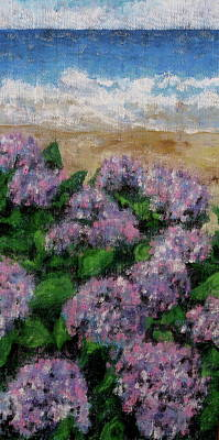 Contemplative Painting - Hydrangea Afternoon by Douglas AmEnde