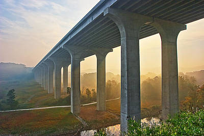 Boston Photograph - I-80 In Cuyahoga Valley National Park by Marcia Colelli