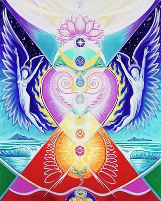 Chakra Painting - I Am Love by Jenifer Prince