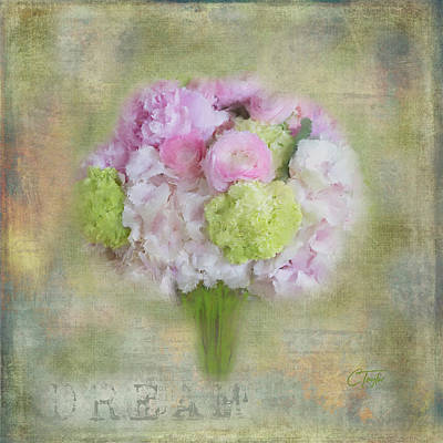 I Dream Of Bouquets Print by Colleen Taylor