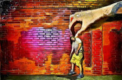Muscular Digital Art - I Got You - Da by Leonardo Digenio