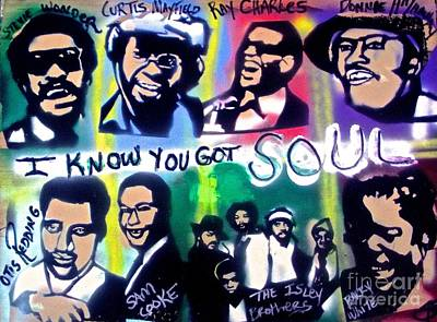 Tony B. Conscious Painting - I Know You Got Soul by Tony B Conscious