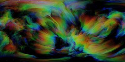 Show Sum Spinal Nebula Print by Betsy Knapp