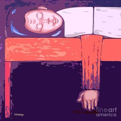 Lazy Mixed Media - I Love My Bed by Patrick J Murphy