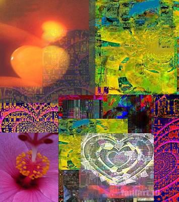 Yesayah Digital Art - I Love You This Much by Fania Simon