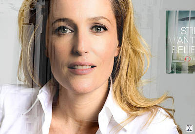Gillian Digital Art - I Made This by Douglas Kellett