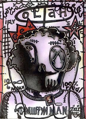 Folk Art Mixed Media - i-Muff by Robert Wolverton Jr
