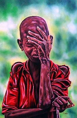 Painting - I Must Go On by Shahid Muqaddim