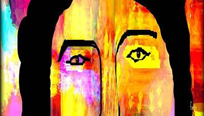 Yesayah Mixed Media - I See But I Cannot Speak by Fania Simon