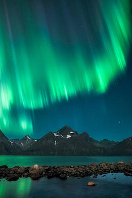 Aurora Photograph - I See Fire by Tor-Ivar Naess