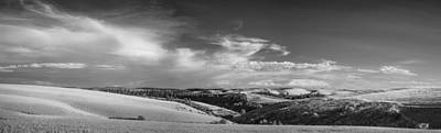 Black And White Rural Photograph - I See The Whole Picture by Jon Glaser