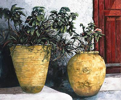 Terra Painting - I Vasi by Guido Borelli