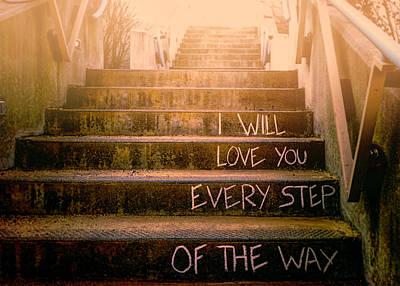 I Will Love You 2 Print by Bob Orsillo