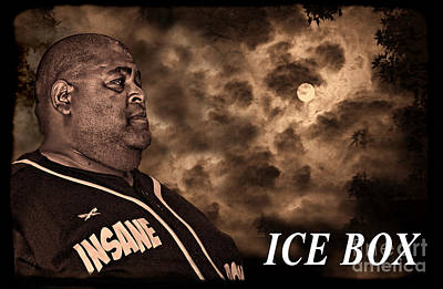 Face Photograph - Ice Box  by Jim Fitzpatrick