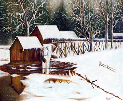 Painting - Ice Home. by Fine art Photographs
