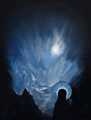 Ice Maria Print by Aleksei Gorbenko