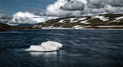 Iceberg Print by Nigel Jones