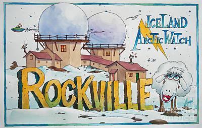 Rockville Painting - Iceland Arctic Watch by James Williamson