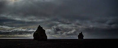 2 Solitudes Photograph - Iceland Rock Formations #3 by Stuart Litoff