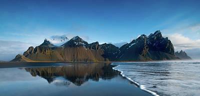 Stream Photograph - Iceland Sunrise by Larry Marshall