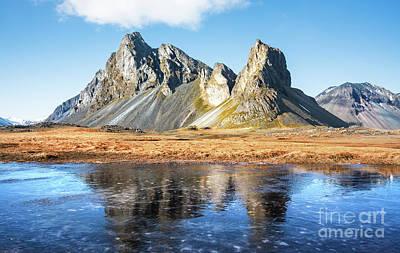 Nature Scene Mixed Media - Iceland by Svetlana Sewell