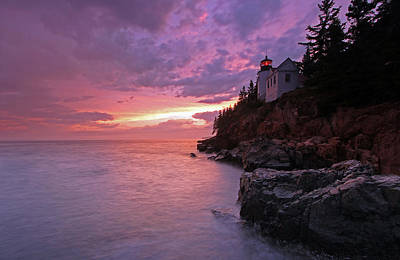 Iconic Bass Harbor Lighthouse Print by Juergen Roth
