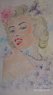 Iconic Women.marilyn Munroe Original by Ger Ryan