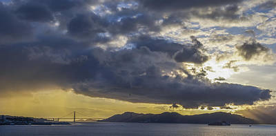 Alcatraz Photograph - Icons Of The Bay by Sean Foster