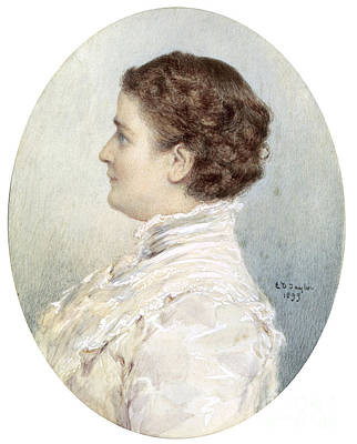 Ida Mckinley, First Lady Print by Science Source