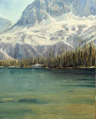 Salmon River Idaho Painting - Idaho's Sawtooth Wilderness by Tom Siebert