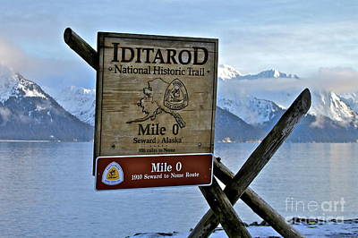 Iditarod Print by Rick  Monyahan