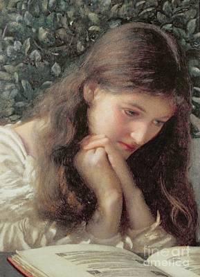 Anxious Painting - Idle Tears by Edward Robert Hughes