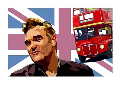 Morrissey Photograph - If A Double Decker Bus by Mal Bray
