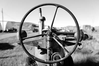Farming Photograph - If The Wheel Could Talk by Todd Klassy