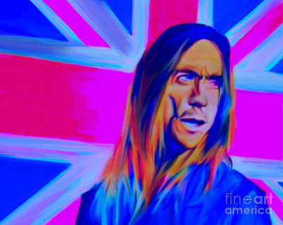 Iggy Pop Original by Felix Von Altersheim