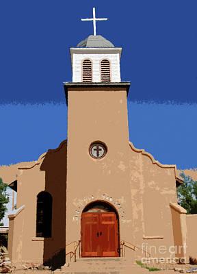 Catholicism Digital Art - Iglesia San Jose 1922 by David Lee Thompson
