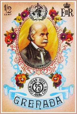 Ignatius Painting - Ignatius Semmelweis by Lanjee Chee