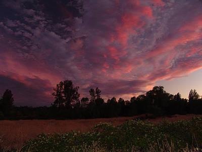 Clouds Photograph - Igo Sunset by John Norman Stewart