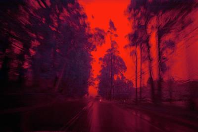 I'll Be Home 4 Xmas Print by Daniel Furon