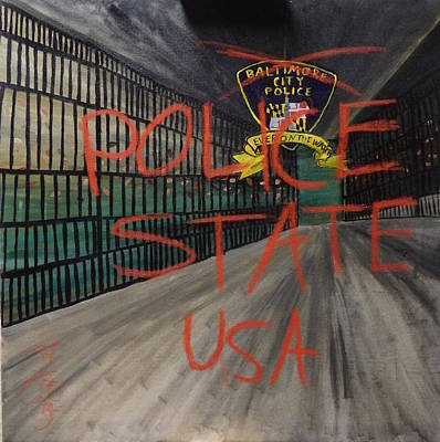 Illegal Detention Print by Phoenix Rising