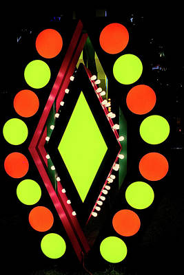 Baltimore Photograph - Illuminated Designs by Mark Dodd