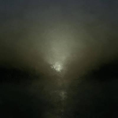 Eternity Digital Art - Illuminated Shore by Lonnie Christopher